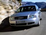 Audi A6 3.0 quattro Sedan (4B,C5) 2001–04 wallpapers