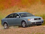 Audi A6 Sedan US-spec (4B,C5) 2001–04 wallpapers