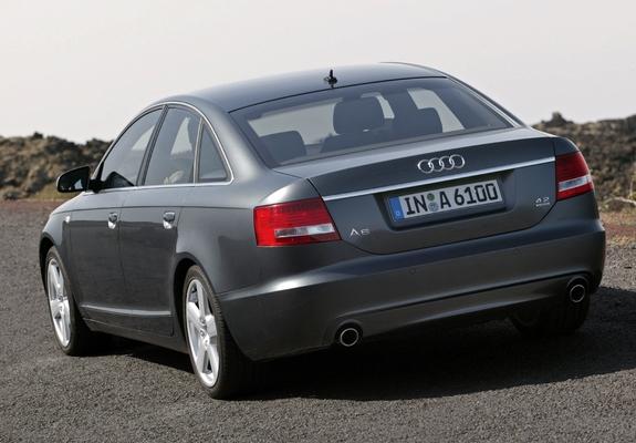 Audi A6 4.2 quattro S-Line Sedan (4F,C6) 2005–08 images