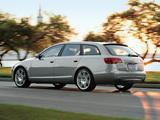 Audi A6 3.2 quattro S-Line Avant US-spec (4F,C6) 2005–08 images