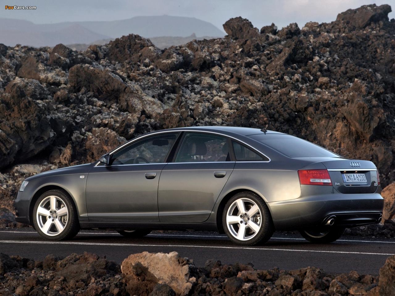 Audi A6 4 2 Quattro S Line Sedan 4f C6 2005 08 Images
