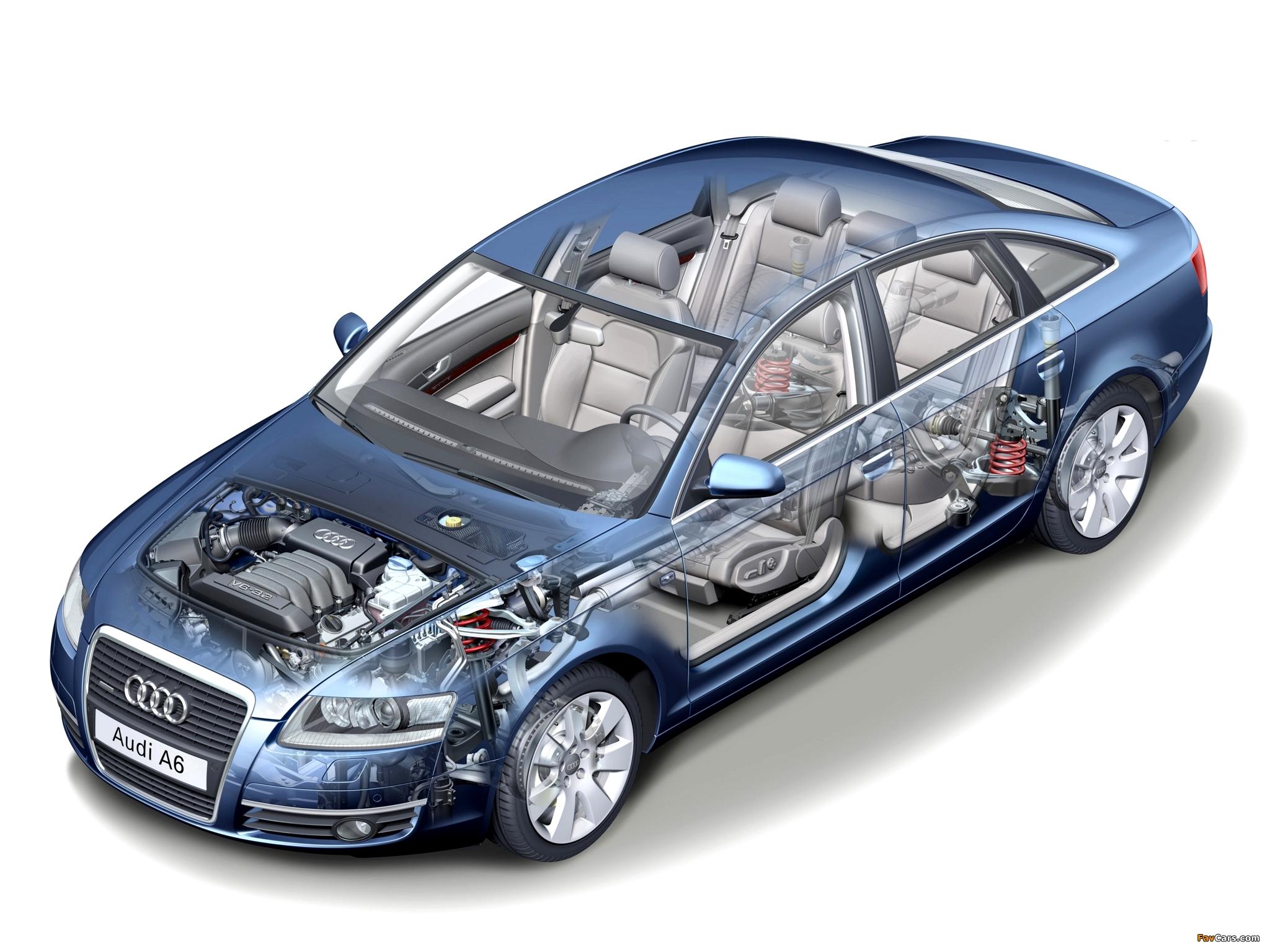 Audi A6 3 2 Quattro Sedan 4f C6 2005 08 Pictures 2048x1536