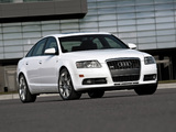Audi A6 4.2 quattro S-Line Sedan US-spec (4F,C6) 2005–08 pictures