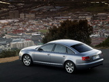 Audi A6 3.2 Sedan (4F,C6) 2005–08 wallpapers