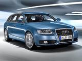 Audi A6 2.8 quattro Avant (4F,C6) 2008–11 photos