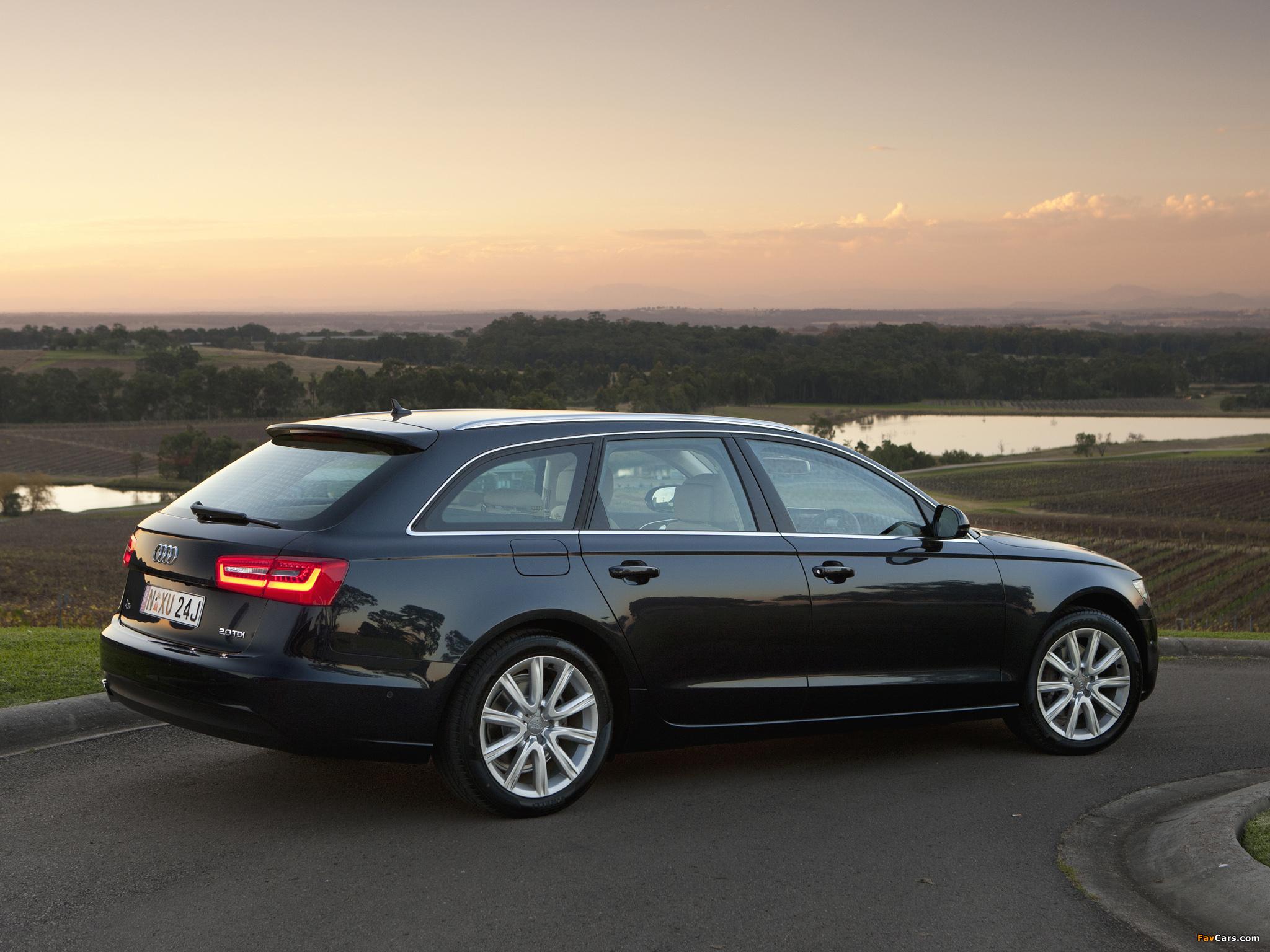 Audi A6 2 0 Tdi Avant Au Spec 4g C7 2011 Images 2048x1536