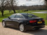 Audi A6 3.0 TDI Sedan UK-spec (4G,C7) 2011 images