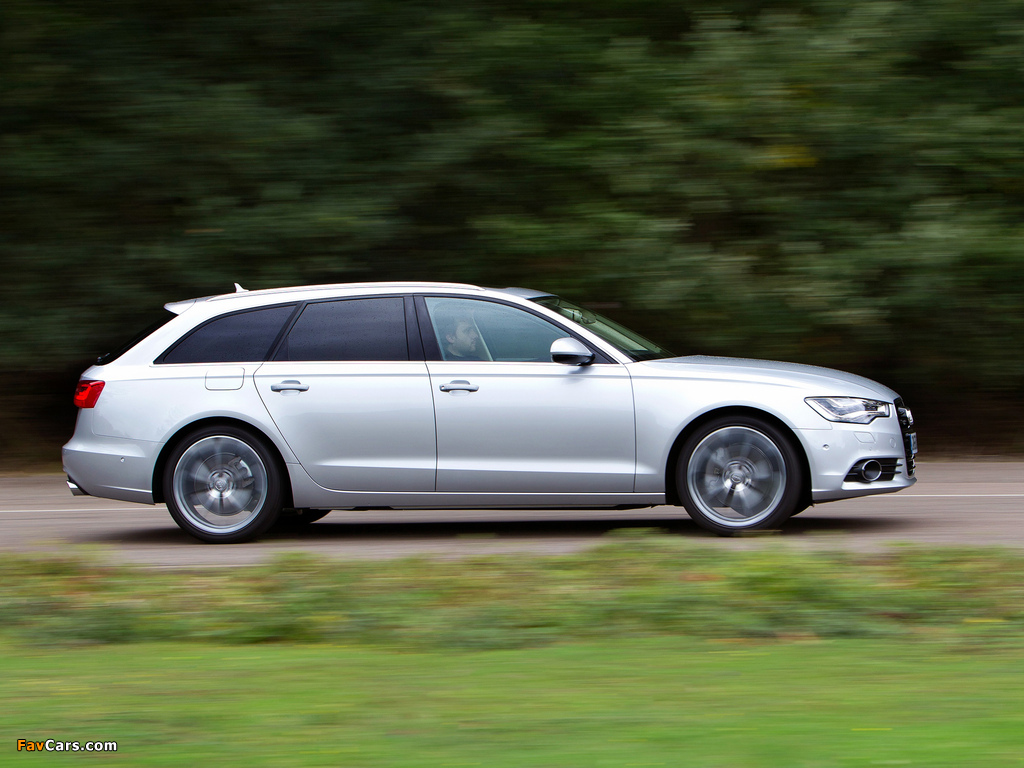 Audi A6 3 0 Tdi Avant Uk Spec 4g C7 2011 Images 1024x768