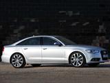 Audi A6 3.0T Sedan UK-spec (4G,C7) 2011 photos