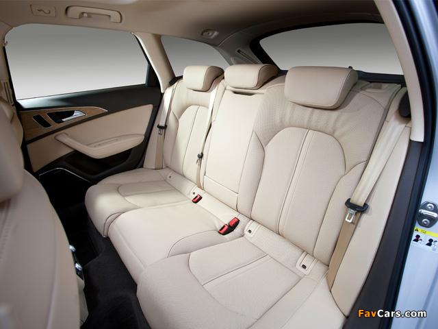 Audi A6 3.0 TDI S-Line Avant UK-spec (4G,C7) 2011 photos (640 x 480)