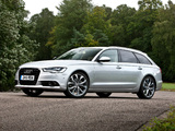 Audi A6 3.0 TDI Avant UK-spec (4G,C7) 2011 pictures