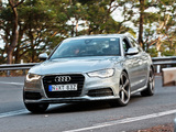 Audi A6 2.8T S-Line Sedan AU-spec (4G,C7) 2011 wallpapers