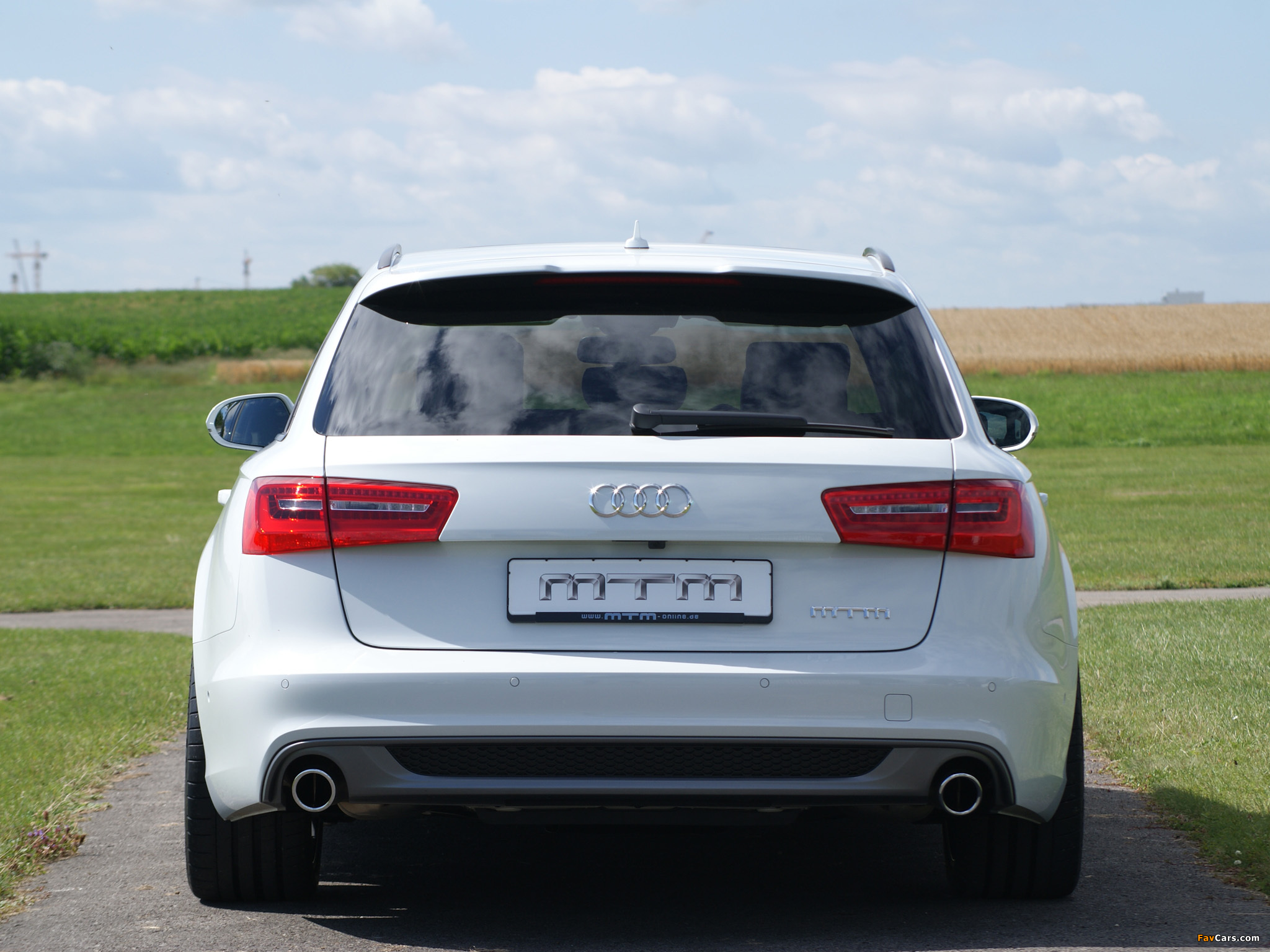 MTM Audi A6 3.0 TDI S-Line Avant (4G,C7) 2012 photos (2048 x 1536)