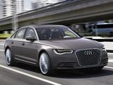 Audi A6 L e-tron Concept (4G,C7) 2012 photos