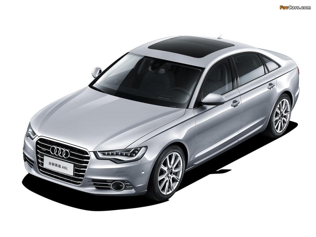 Audi A6L 50 TFSI quattro (4G,C7) 2012 pictures (1024x768)