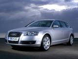 Images of Audi A6 4.2 quattro Avant UK-spec (4F,C6) 2005–08