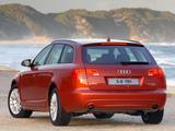 Images of Audi A6 3.0 TDI quattro S-Line Avant ZA-spec (4F,C6) 2005–08