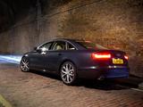 Images of Audi A6 3.0 TDI Sedan UK-spec (4G,C7) 2011
