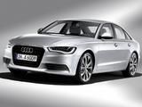 Images of Audi A6 Hybrid Sedan (4G,C7) 2011