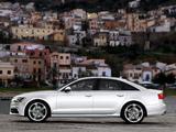 Images of Audi A6 3.0 TDI S-Line Sedan (4G,C7) 2011