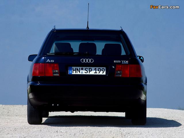 Photos of Audi A6 Avant (4A,C4) 1994–97 (640 x 480)