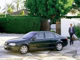 Photos of Audi A6 1.9 TDI Sedan (4B,C5) 2001–04