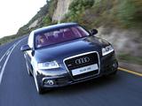 Photos of Audi A6 3.0T quattro S-Line Sedan ZA-spec (4F,C6) 2008–11