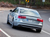 Photos of Audi A6 2.8T S-Line Sedan AU-spec (4G,C7) 2011
