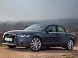 Photos of Audi A6 3.0 TDI Sedan UK-spec (4G,C7) 2011