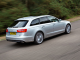 Photos of Audi A6 3.0 TDI Avant UK-spec (4G,C7) 2011