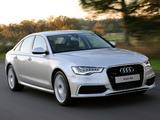 Photos of Audi A6 3.0 TDI S-Line Sedan ZA-spec (4G,C7) 2011