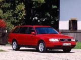 Pictures of Audi A6 Avant (4A,C4) 1994–97