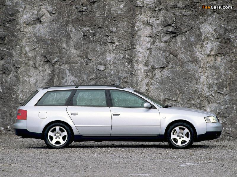 Pictures of Audi A6 2.8 Avant (4B,C5) 1998–2001 (800 x 600)