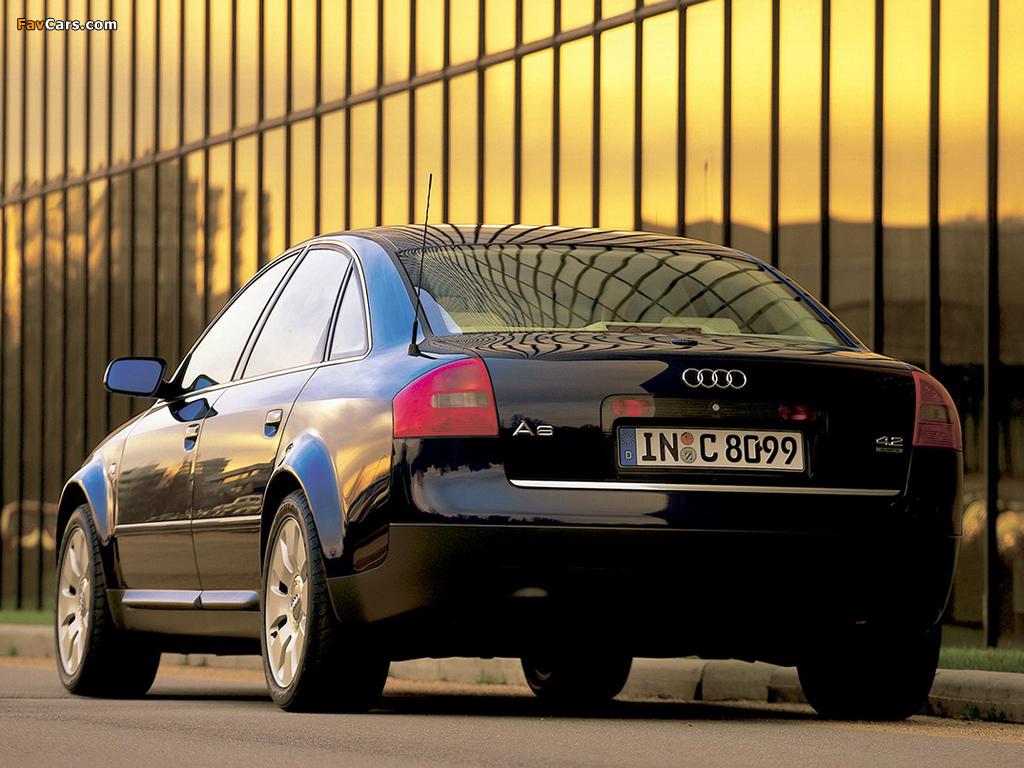 Pictures Of Audi A6 4 2 Quattro Sedan 4b C5 1999 2001