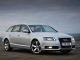 Pictures of Audi A6 Avant UK-spec (4F,C6) 2008–11