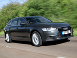 Pictures of Audi A6 3.0 TDI Avant UK-spec (4G,C7) 2011