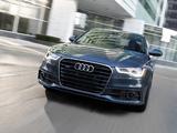 Pictures of Audi A6 3.0T S-Line Sedan US-spec (4G,C7) 2011