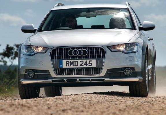 Pictures Of Audi A6 Allroad 30 Tdi Quattro Uk Spec 4gc7 2012
