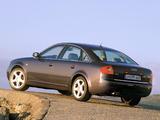 Audi A6 3.0 Sedan (4B,C5) 2001–04 wallpapers