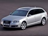 Audi A6 4.2 quattro Avant UK-spec (4F,C6) 2005–08 wallpapers