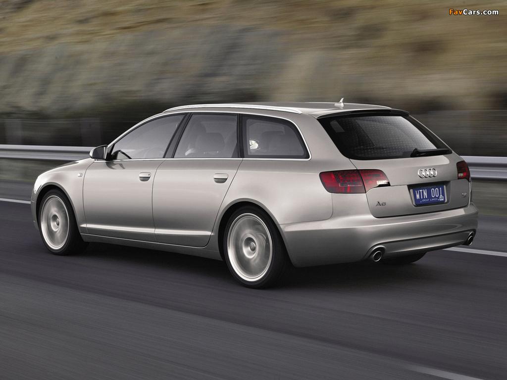 Audi A6 Avant (4F,C6) 2005–08 wallpapers (1024 x 768)