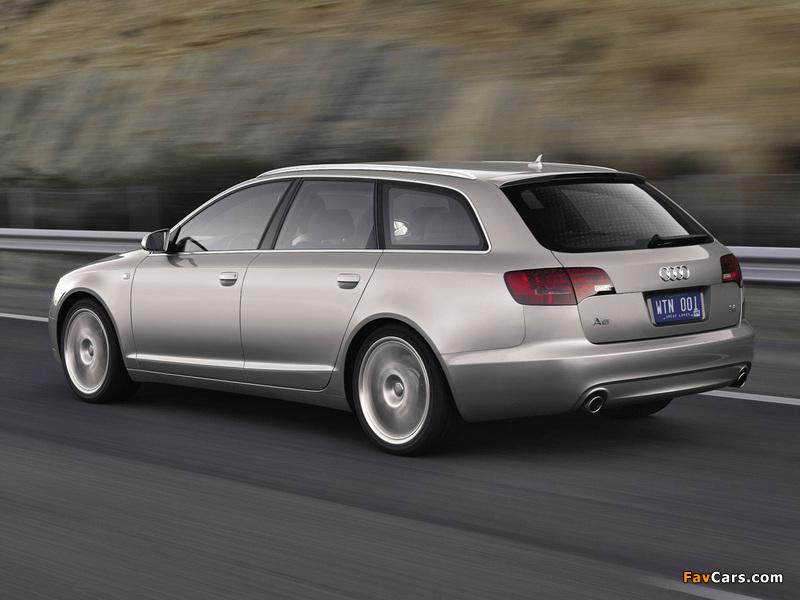 Audi A6 Avant (4F,C6) 2005–08 wallpapers (800 x 600)