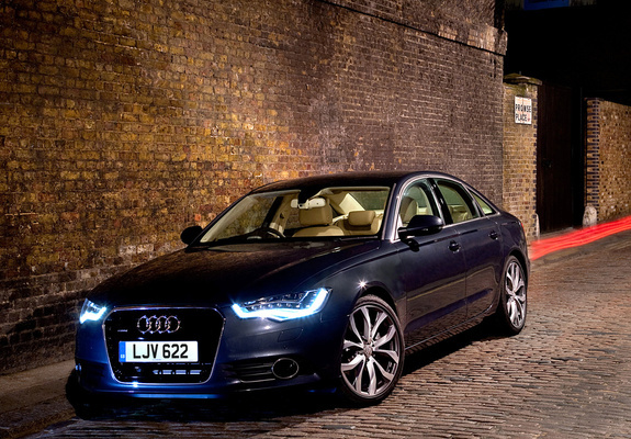 audi a6 3 0 tdi sedan uk spec 4g c7 2011 wallpapers. Black Bedroom Furniture Sets. Home Design Ideas