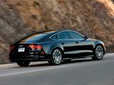 Audi A7 Sportback 3.0 TFSI quattro S-Line US-spec 2010 pictures