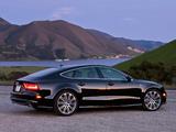 Pictures of Audi A7 Sportback 3.0 TFSI quattro S-Line US-spec 2010