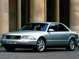 Audi A8 UK-spec (D2) 1994–99 photos