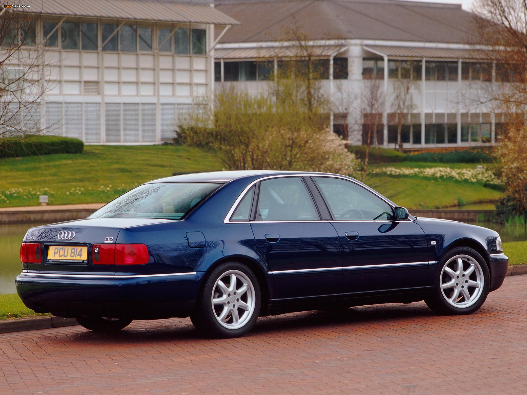 Audi A8 3.7 quattro UK-spec (D2) 1999–2002 wallpapers ...