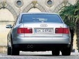 Audi A8L 6.0 quattro (D2) 2001–02 wallpapers