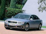 Audi A8 4.2 quattro (D3) 2003–05 images