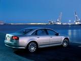 Audi A8 3.7 quattro (D3) 2003–05 images